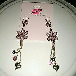 NWOT Betsey Johnson earrings!